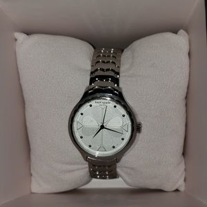 kate spade scallop stainless steel bracelet watch